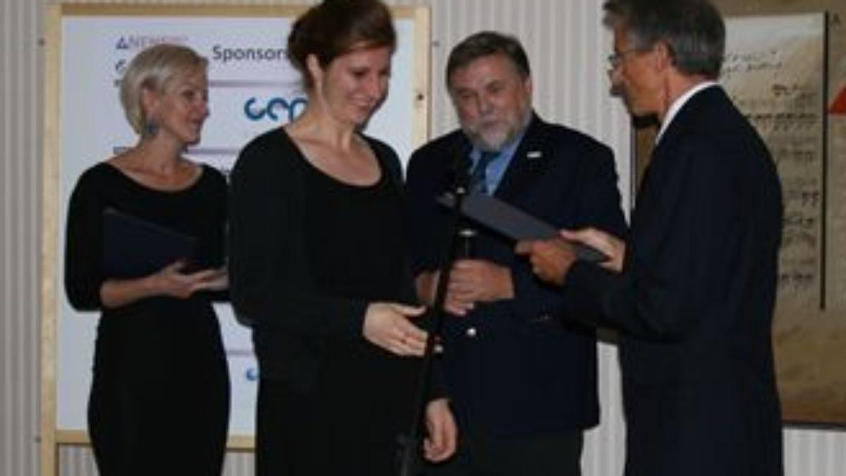 "Gewinnerin des ""Science Slam"" NENE 2017 - Frau C. Graß  (c)"